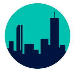 Icon of the Boston skyline